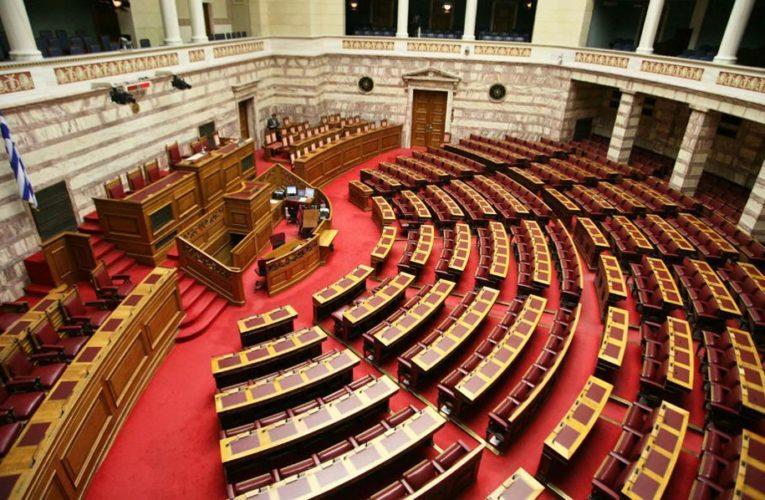 Τέσσερα κρούσματα κορονοϊού στη Βουλή