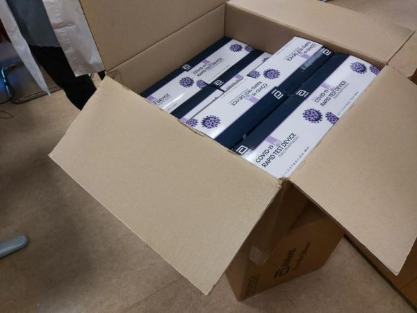 1500 rapid tests για το προσωπικό του ΑΧΕΠΑ