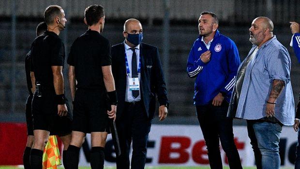 Απαγόρευση εισόδου στα γήπεδα για τέσσερις μήνες στον Καραπαπά