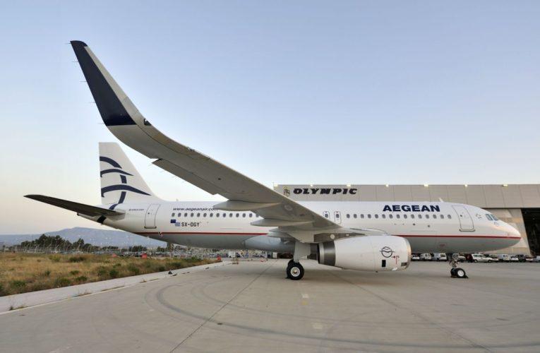 Ακυρώσεις και τροποποιήσεις πτήσεων Aegean – 0lympic