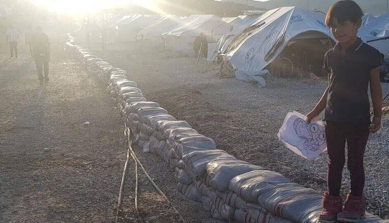 Μυτιλήνη: Σε εξέλιξη τα αντιπλημμυρικά έργα για το ΚΥΤ στο Μαυροβούνι