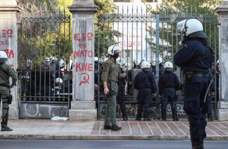 Καταγγελία  Συλλόγου Μεταπτυχιακών Σπουδαστών (Υ/Δ) ΕΜΠ. για βανδαλισμούς στο Πολυτεχνείο από αστυνομικούς