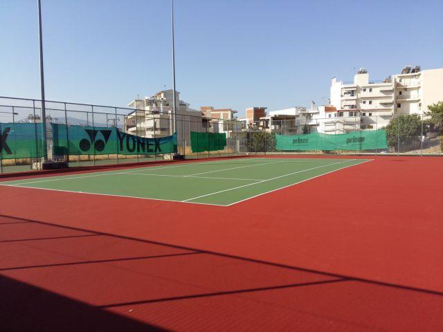 Ηράκλειο Αττικής: Άνοιγμα των γηπέδων τένις για ατομική προπόνηση