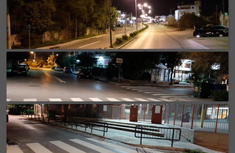 Βριλήσσια: Επισκευάζονται οι δρόμοι με στόχο την ασφάλεια πεζών και οδηγών