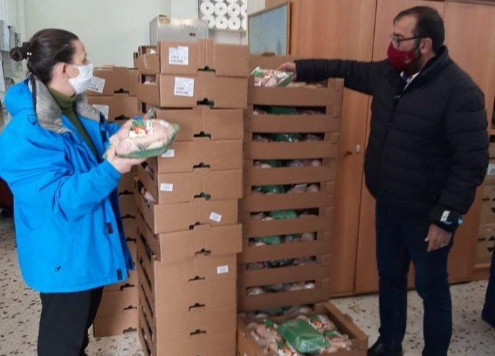 Οικογένειες σε 6 Δήμους του Βορείου Τομέα επωφελήθηκαν από τη διανομή προϊόντων ΤΕΒΑ
