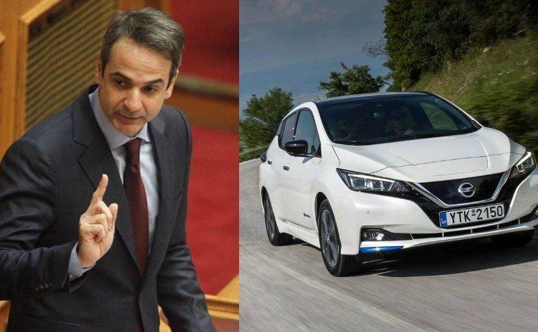Μητσοτάκης για πράσινη οικονομία: Έχουμε πουλήσει περισσότερα ηλεκτρικά αυτοκίνητα απ' όσα υπολογίζαμε μέσα στο 2020