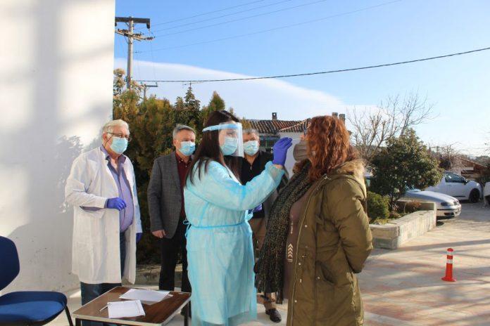 Συνεχίζονται τα προγραμματισμένα rapid tests στο Δήμο Ωρωπού