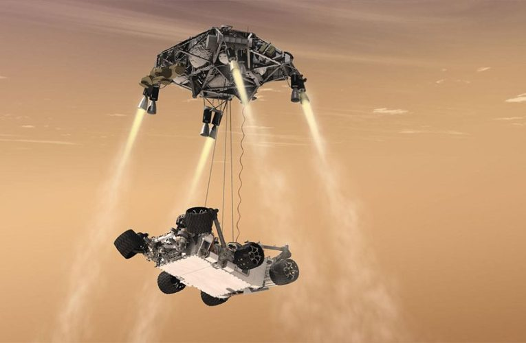"NASA: Το πιο εξελιγμένο ρόβερ ""πάτησε"" στον Άρη – Τα επτά λεπτά του ""τρόμου"" (photos And vids)"