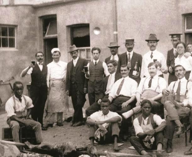 Η ελληνική κοινότητα της Πρετόρια τη δεκαετία του 1910.