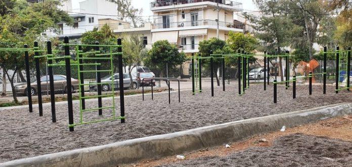 Χαλάνδρι: Το πρώτο πάρκο καλλισθενικής γυμναστικής είναι γεγονός
