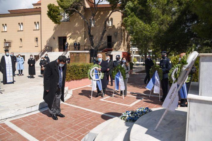 Με δοξολογία, επιμνημόσυνη δέηση και κατάθεση στεφάνων ο Εορτασμός της 25ης Μαρτίου στον Δήμο Λυκόβρυσης- Πεύκης