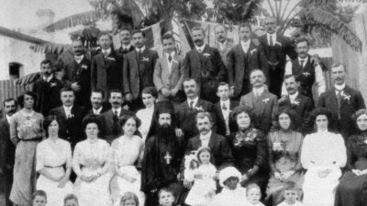 Η ελληνική κοινότητα του Γιοχάνεσμπουργκ συγκεντρωμένη.