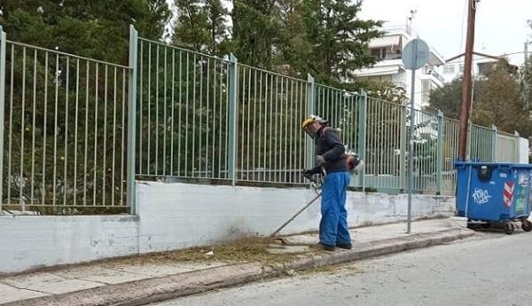 Δήμος Πεντέλης: Παρεμβάσεις καθαριότητας και καλλωπισμού στα σχολεία