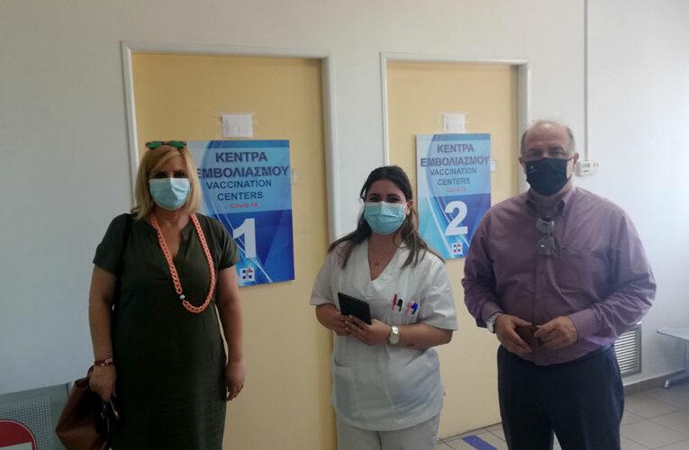 Ξεκίνησε να λειτουργεί το νέο Εμβολιαστικό Κέντρο Covid-19 στο ΙΚΑ Αγίου Στεφάνου από την Πέμπτη 27/5