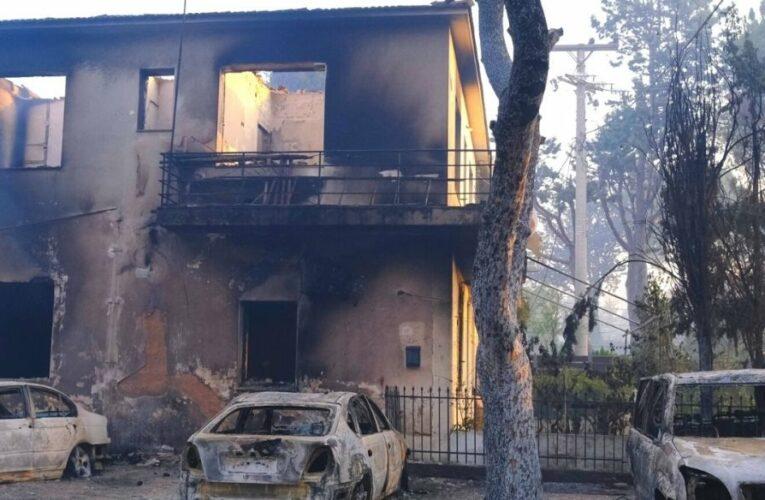 Πλιάτσικο στα καμένα σπίτια τους καταγγέλουν οι κάτοικοι της Βαρυμπόμπης