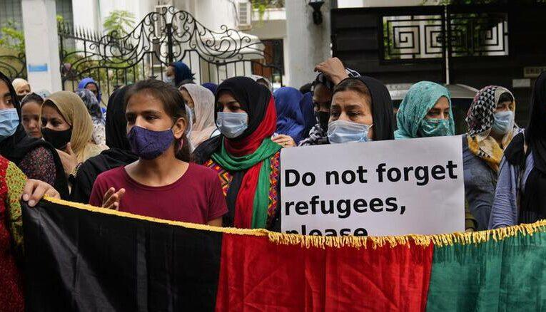 Διαδήλωση κατά των Ταλιμπάν – Η διαταγή να εκκενώσουν τα σπίτια τους