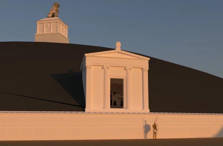 Ετσι θα γίνει ο Τύμβος Καστά στην Αμφίπολη -Δείτε τα σχέδια [εικόνες, βίντεο]