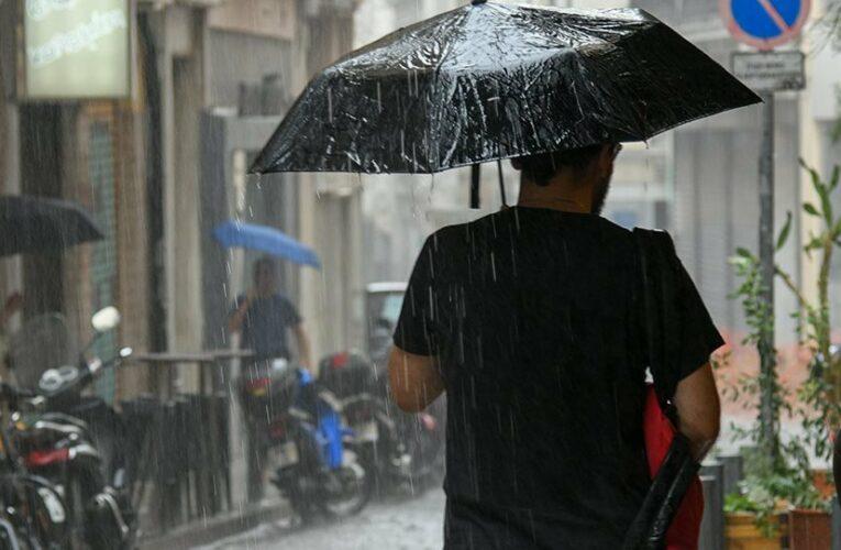 Καιρός: Αισθητή πτώση της θερμοκρασίας – Πού θα εκδηλωθούν βροχές και καταιγίδες